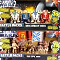 "Battle Pack Set mit 9 Star Wars Figuren ""Mos Espa Arena"" & ""Royal Starship Droids"" von Hasbro"