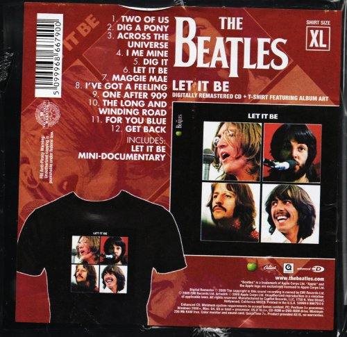 Let It Be (Deluxe Crate Edition with T-Shirt)
