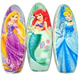 Set of 3 Disney Princess Ariel Rapunzel Cinderalla 4.4 oz Chocolate Egg Easter Basket Candy