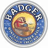 Badger AROMATIC CHEST RUB BALM Certified Organic Soothing Eucalyptus & Mint 21g