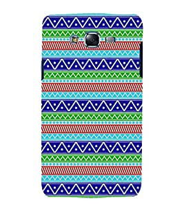 printtech Abstract Designer Pattern Back Case Cover for Samsung Galaxy A3 /Samsung Galaxy A3 A300F