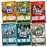 Robert Muchamore Henderson's Boys Pack, 6 books, RRP £41.94 (The Escape; Eagle Day; Secret Army; Grey Wolves; The Prisoner; One Shot Kill).