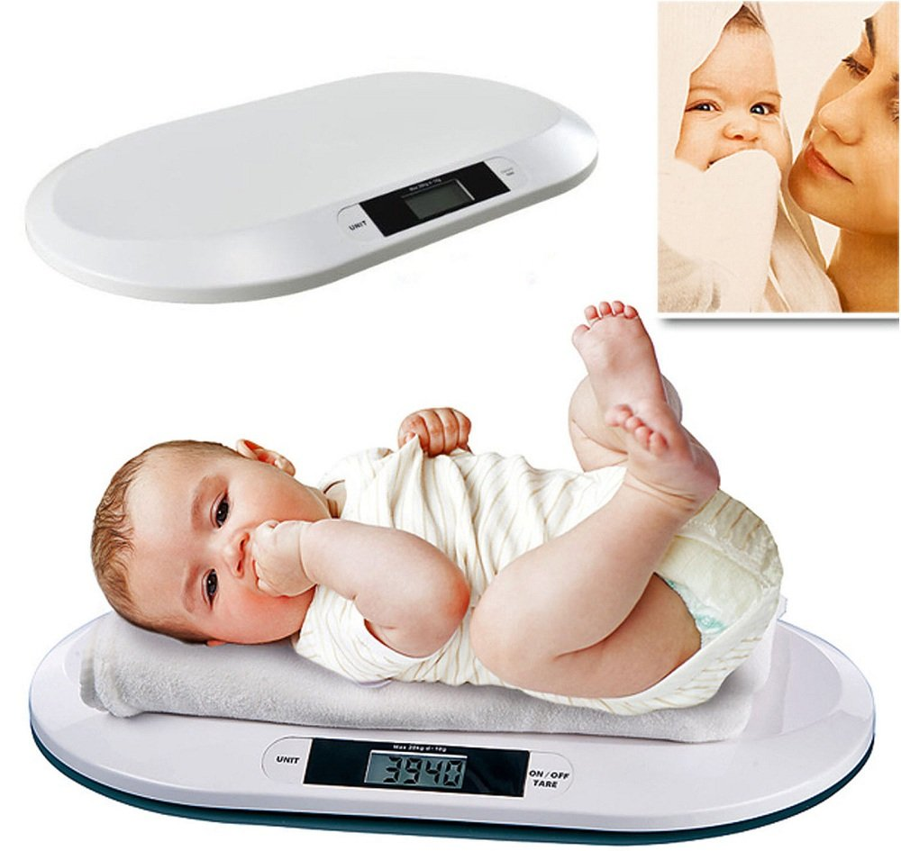 Digital Electronic Weighing Scale Baby Infant Pets Bathrooms 20KGS//44LBS 10G UK