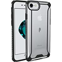 Poetic Affinity Protective Bumper Case for Apple iPhone 7 (Black/Clear)