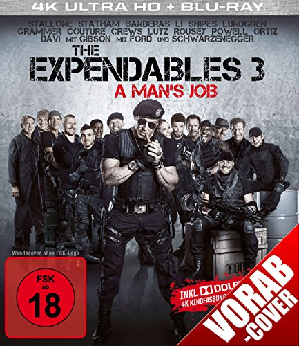 The Expendables 3 (4K Ultra HD) (+ Blu-ray)