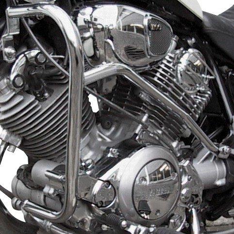 Pare Carter Fehling Yamaha XV 750/1100 Virago 89-99 argent