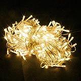 RPGT® 200 LEDs 22M LED Lichterkette Weihnachten Party-Lichterkette Kette Leuchte (WarmWeiß)