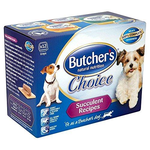 Butcher'S Natural Nutrition Choice Succulent Meat - Foil Tray (12X150G)