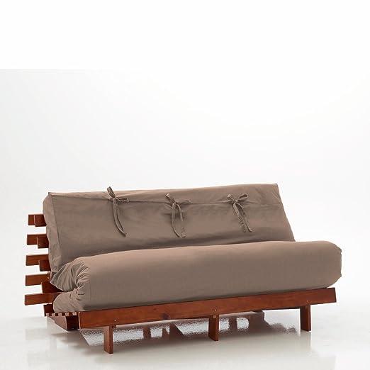 la redoute interieurs copri futon tinta unita taglia 16. Black Bedroom Furniture Sets. Home Design Ideas