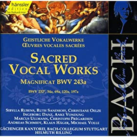 Bach, J.S.: Magnificat in E-Flat Major, Bwv 243A