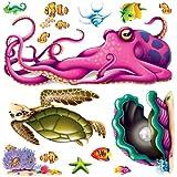 Sea Creature Props Party Accessory (1 count) (13/Pkg)
