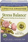 Lifestyle Awareness Teas, Caffeine Free Stress Balance Tea, 20 Count (Pack of 6)