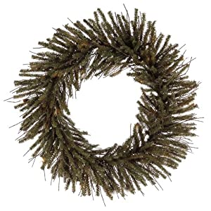 "Club Pack of 24 Mini Vienna Twig Artificial Christmas Wreaths 6"" - Unlit"
