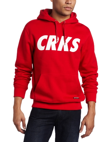 Crooks & Castles Men's Knit Hooded Pullover