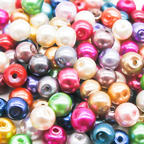 100-mixed-colour-pearl-glass-beads-6mm-by-libbyshouse