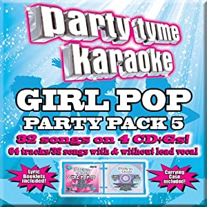 Party Tyme Karaoke: Girl Pop Party Pack 5