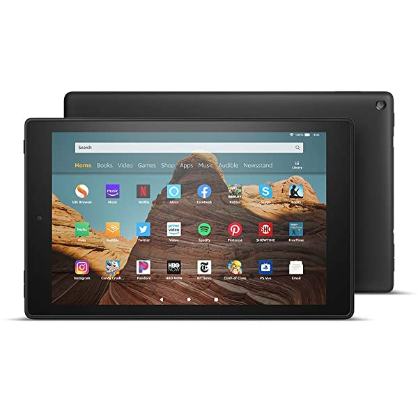 All-New Fire HD 10 Tablet (10.1 1080p full HD display, 32 GB) - Black - without Special Offers (Color: Black)