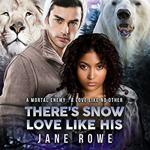 There's Snow Love Like His: A BWWM BBW Forbidden Shifter Romance for Adults Audiobook