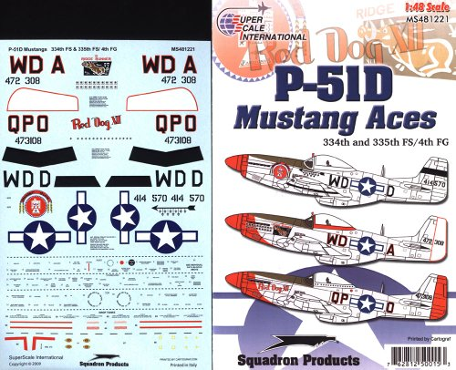 Superscale USA P-51D Mustang Decals