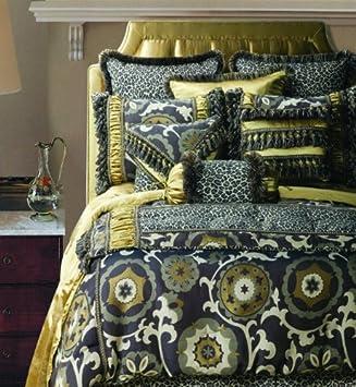 Popular Jennifer Taylor Pcs Comforter Set Oversize King ESPRESSO Collection