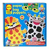 ALEX® Toys - Early Learning Paper Bag Puppets -Little Hands 1411 Children, Kids, Game