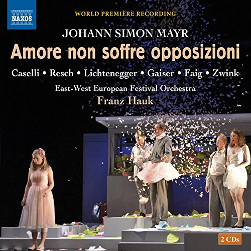 CD : MAYR / CASELLI / GAISER / ZWINK - Mayr: Amore Non Soffre Opposizioni (2 Discos)