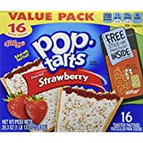 Kellogg's Pop-tarts Frosted Strawberry 16 Count