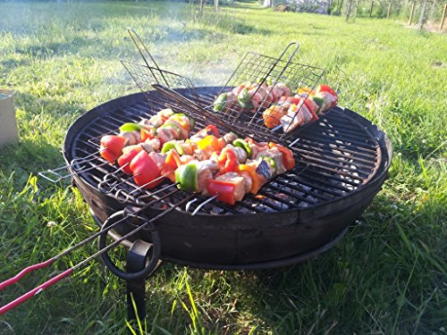 indian-fire-bowl-set-with-cover-80cm-bowl-grill-stand-kadai-pit