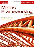 img - for Maths Frameworking - Homework Book 3 by Peter Derych (2014-07-15) book / textbook / text book