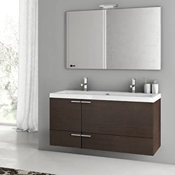 ACF 47 Inch Wenge Bathroom Vanity Set ANS139