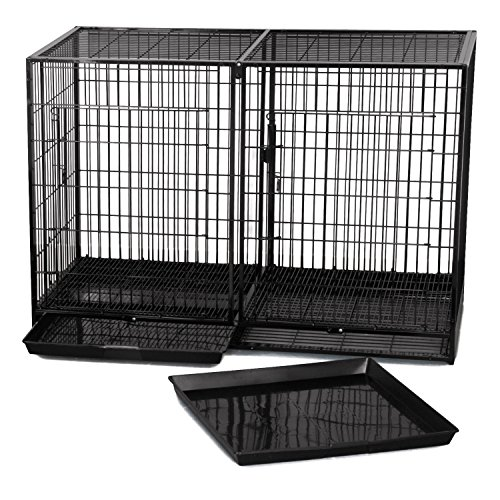 ProSelect Steel Modular Cage, X-Tall, Black (Dog Modular Cage compare prices)