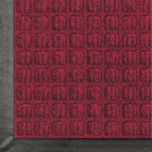 Andersen 200 Red/Black Polypropylene Waterhog Classic Entrance Mat, 3' Length X 2' Width, For Indoor/Outdoor front-506582