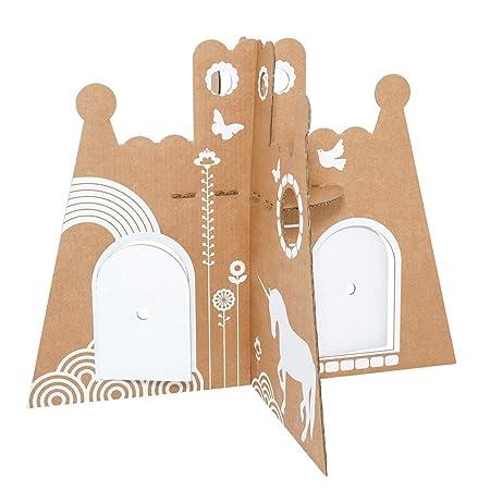 Flatout Frankie - princess castle - le château en carton de la princesse