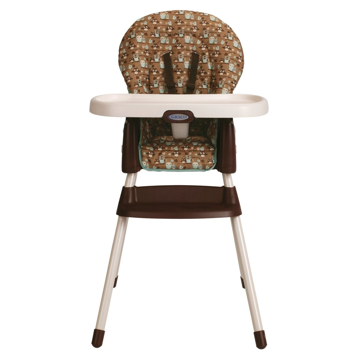 graco simpleswitch highchair and booster little hoot new free shipping ebay. Black Bedroom Furniture Sets. Home Design Ideas