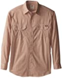 Dickies Men's Tall Long Sleeve Plaid with Inverted Pocket -