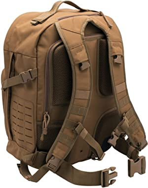 LA Police Gear Atlas 24H MOLLE Tact Backpack-GRN (Color: OD