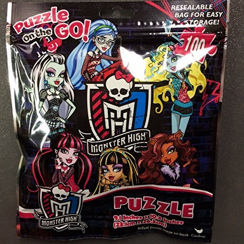 Monster High Puzzle on the Go - 1