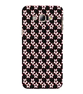 EPICCASE funky flowers Mobile Back Case Cover For Samsung Galaxy A3 (Designer Case)