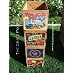Vintage Wood Apple Crates circa 1940's - 50's - Colorful Old Labels HUNDREDS in stock