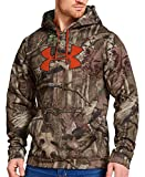 Under Armour Mens Armour® Fleece Camo Big Logo Hoodie Extra Large Mossy Oak Break-Up Infinity