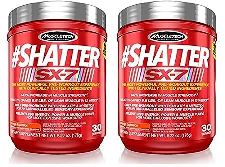 MuscleTech Shatter SX-7-Wassermelone 2x174g (2er Pack)