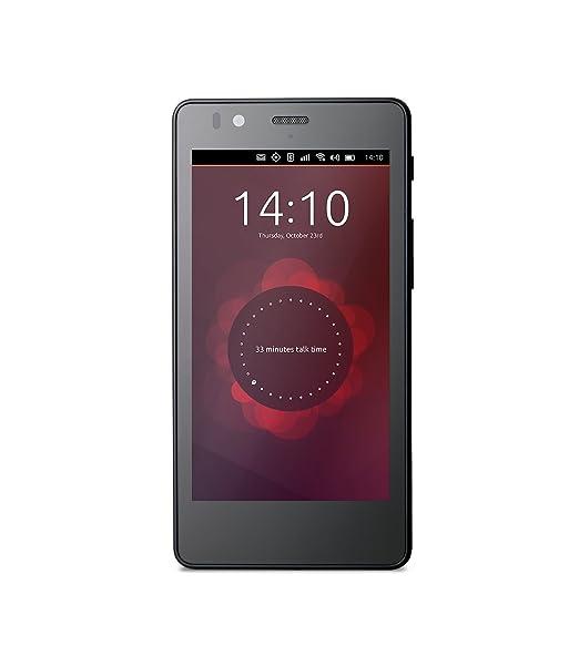 BQ Aquaris E4.5 Ubuntu Edition Smartphone débloqué 3G+ (Ecran : 4,5 pouces - 8 Go - Double SIM) Noir