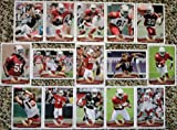 2013 Topps Football Arizona Cardinal Team Set In a Protective Case - 15 cards including Fitzgerald, Taylor RC, Swope RC, Palmer, Minter RC, Peterson, Roberts, Floyd, Williams, Cooper RC, Mathieu, Washington, Okafor RC, Ellington RC, and a Team Leader Card.