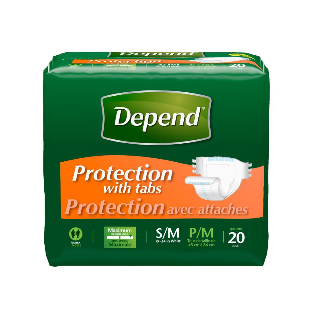 Discreet protection for men
