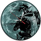 Final Fantasy Game Decal Waterproof Color Modern Sticker Wall Clock - Decorate your home with Colored Moon Art - Best gift for kids, friend, girls and boys - Win a prize for a feedback