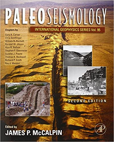 Paleoseismology mccalpin pdf