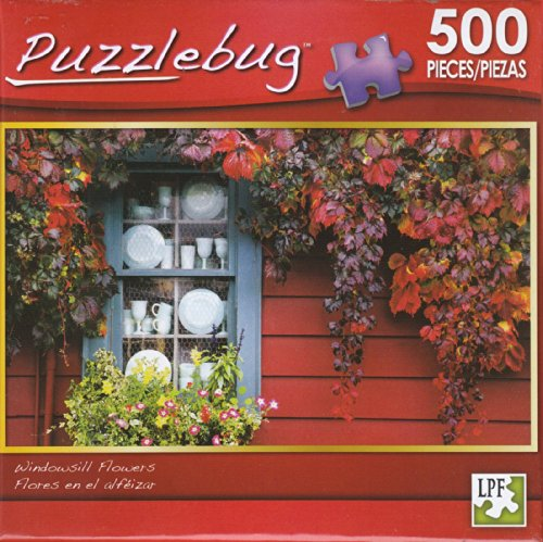 Puzzlebug 500 - Windowsill Flowers - 1
