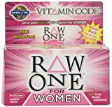 Garden of Life Vitamin Code Raw One for Women Nutritional Supplement, 75 Count