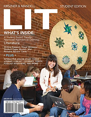 literature-coursemate-for-kirszner-mandells-lit-1st-edition