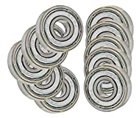 Bearing 608ZZ Shielded 8x22x7 Miniature Ball Bearings(Pack of 10) from VXB